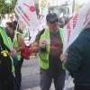 Concentración en Las Palmas contra la precariedad laboral del grupo Ralons