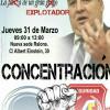 Concentración en Las Palmas contra los abusos de Miguel Ángel Ramirez