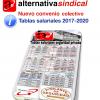 TABLA SALARIAL CONVENIO COLECTIVO SEGURIDAD PRIVADA 2017-2020