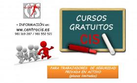 CALENDARIO Cursos Gratuitos para trabajadores en activo del Sector de la Seguridad Privada, de empresas de más de 100 trabajadores.