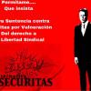 ALTERNATIVASINDICAL GANA ANTE EL TSJ DE GALICIA LA DEMANDA DE VULNERACIÓN DEL DERECHO A LA LIBERTAD SINDICAL CONTRA LA EMPRESA SECURITAS Y ES CONDENADA AL CESE INMEDIATO DE SU CONDUCTA Y A UNA INDEMNIZACIÓN DE 6.500 EUROS.