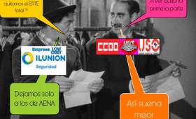 """ALTERNATIVASINDICAL IMPUGNA EL ERTE """"JUAN PALOMO"""" DE ILUNION LOW-COST PARA LOS COMPAÑEROS DE AENA"""