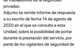 LA UNIDAD CENTRAL DE SEGURIDAD PRIVADA DA LA RAZON A ALTERNATIVASINDICAL SOBRE EL USO DE LAS CÁMARAS GOPRO. ASÍ EN SU INFORME RESPUESTA ENTIENDE, COMO EXPONÍA ALTERNATIVASINDICAL Y LA AEPD QUE PUEDEN USARSE SIEMPRE Y CUANDO EL MINISTERIO DE INTERIOR HAYA HOMOLOGADO LAS MISMAS Y BAJO EL CONTROL DE LAS EMPRESAS DE SEGURIDAD SOBRE EL TRATAMIENTO Y CUSTODIA DE IMÁGENES