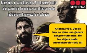 """ALTERNATIVASINDICAL INTERPONE TRES DEMANDAS DE VULNERACIÓN DE DERECHOS FUNDAMENTALES CONTRA SECURITAS ANTE EL TRIBUNAL SUPERIOR DE JUSTICIA DE ANDALUCÍA Y UN CONTENCIOSO ADMINISTRATIVO INSTANDO LA PROHIBICIÓN DE CONTRATAR CON LA ADMINISTRACIÓN PÚBLICA POR LAS 23 CONDENAS DE DERECHOS FUNDAMENTALES QUE LE """"ALUMBRAN""""."""