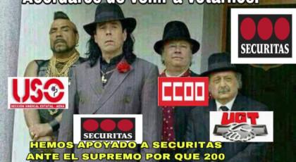 UGT, CCOO Y USO APOYAN JUDICIALMENTE EL DESPIDO DE 200 COMPAÑEROS DE SECURITAS EN CONTRA DE LA DEMANDA DE ALTERNATIVA SINDICAL. UGT, CCOO Y USO IMPUGNAN EL RECURSO PLANTEADO POR ALTERNATIVASINDICAL DONDE ESTE SINDICATO PIDE QUE SE QUEDE SIN EFECTO EL ERE DE SECURITAS