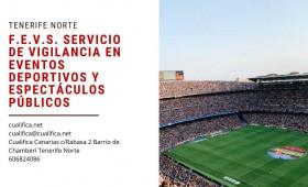 Informar que todavía tenemos plazas para el curso de Eventos Deportivos que se realiza este mes en Canarias