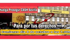 Convocan huelga los vigilantes de seguridad de Prosegur Cash que transportan el dinero en Sevilla: podría faltar efectivo en bancos y tiendas