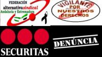 LA SECCION SINDICAL DE ALTERNATIVASINDICAL EN SECURITAS SEVILLA INTERPONE TRES DENUNCIAS.