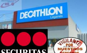 ALTERNATIVA SINDICAL DE TRABAJADORES DE SEGURIDAD PRIVADA ha presentado demanda de conflicto colectivo contra la empresa de Vigilancia y Seguridad SECURITAS SEGURIDAD ESPAÑA,S.A y contra DECATHLON ESPAÑA SAU