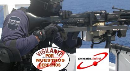 Denuncia contra TRABLISA ante la Agencia Española de Protección de Datos por obligar a los vigilantes de seguridad que prestan servicio en protección marítima a tener que tomar la temperatura corporal de la tripulación de los buques antes de acceder a los mismos