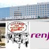 ALTERNATIVASINDICAL BARCELONA HA REGISTRADO HOY CONCENTRACIÓN EN FAVOR DEL COMPAÑERO DE RENFE DE SANTS BARCELONA