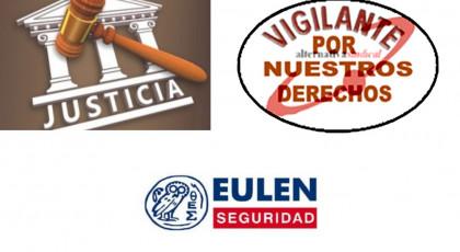 ALTERNATIVASINDICAL CONSIGUE SENTENCIA DONDE SE RECONOCE EL DERECHO DE LOS TRABAJADORES DE EULEN A RECIBIR 100 HORAS DE FORMACIÓN EN BASE AL ARTÍCULO 23.3 DEL ESTATUTO CON INDEPENDENCIA DE LAS 20 HORAS DE FORMACIÓN POR LEY DE SEGURIDAD PRIVADA ANUALES Y 20 POR EL CONVENIO COLECTIVO