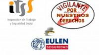 LA INSPECCIÓN DE TRABAJO LEVANTA VARIAS ACTAS CONTRA EULEN SEGURIDAD A DENUNCIA DE ALTERNATIVASINDICAL