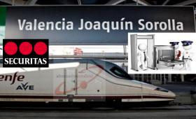 alternativasindical Valencia interpone demanda de reconocimiento de derecho en vía de conflicto colectivo contra SECURITAS por falta de abono en el plus de radoscopia a los vigilantes de seguridad que prestan servicio en la estación del AVE, Joaquín Sorolla de Valencia.