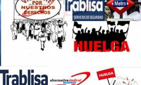 """El Sercla sobre la huelga de metro de Madrid termina """"sin avenencia"""" y alternativasindical anuncia el comienzo de las movilizaciones"""