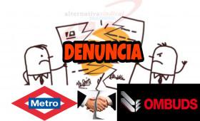 """Metro de Madrid a Juicio por la deuda a 295 vigilantes mientras prepara un """"concurso de urgencia"""" para sustituir a Ombuds"""