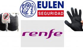 La inspección de trabajo en Gijón requiere a RENFE y a EULEN una el evaluación específica por las agresiones a los vigilantes a fin de disponer de chalecos y guantes anticorte