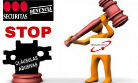 ALTERNATIVASINDICAL INTERPONE DEMANDA CONTRA SECURITAS POR INCORPORAR CLÁUSULAS ABUSIVAS E ILEGALES EN LOS CONTRATOS