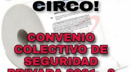 PRIMERA REUNIÓN DE LA COMISIÓN NEGOCIADORA DEL CONVENIO COLECTIVO DE SEGURIDAD PRIVADA