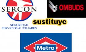MADRID-METRO SEGURIDAD La Comunidad de Madrid adjudica el contrato de seguridad en Metro a la empresa Sercon H24 en sustitución de Ombuds