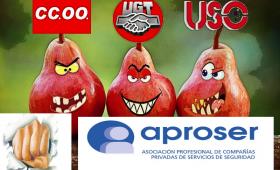 Demagogos de  baratillo ( UGT,  CCOO y USO )  Dejad de engañar a los ilusos y de vender los derechos del colectivo, demagogos de  baratillo