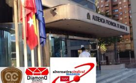ALTERNATIVASINDICAL DEMANDA A LA COMUNIDAD DE MADRID POR LA FALTA DE ABONOS DE SALARIOS A LOS VIGILANTES DE SEDES JUDICIALES