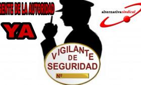 alternativasindical responsabiliza al gobierno a través de la Secretaría de Estado de Seguridad y a las Patronales de Empresas de seguridad de las constantes agresiones sufridas por los Vigilantes de Seguridad en el territorio Nacional