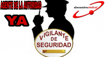 EL GRUPO PARLAMENTARIO VOX INSTA AL GOBIERNO A PROPUESTA DE ALTERNATIVA SINDICAL A DEVOLVER EL CARÁCTER DE AGENTES DE AUTORIDAD.