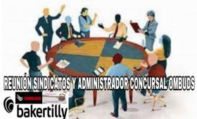 EL ADMINISTRADOR CONCURSAL DE OMBUDS CITA NUEVAMENTE A LA REPRESENTACIÓN LEGAL DE LOS TRABAJADORES EL DÍA 22 DE OCTUBRE