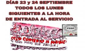 LA PLATAFORMA SOCIAL POR LA DEFENSA DE LOS DERECHOS DE LOS TRABAJADORES DE SEGURIDAD PRIVADA CONVOCA HUELGA DE CARÁCTER INDEFINIDO EN EL SECTOR.