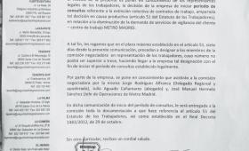 Seguridad Integral Canaria inicia consultas en Metro Madrid