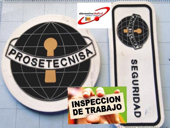 Inspección de trabajo Prosetecnisa Valencia