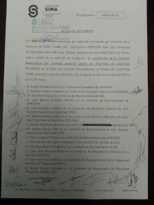 Acta acuerdo SIMA constitución mesa negociadora convenio 2017