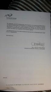 Contestacion Fundación Estatal para la Formación al comité de empresa de Loomis en Sevilla (2)