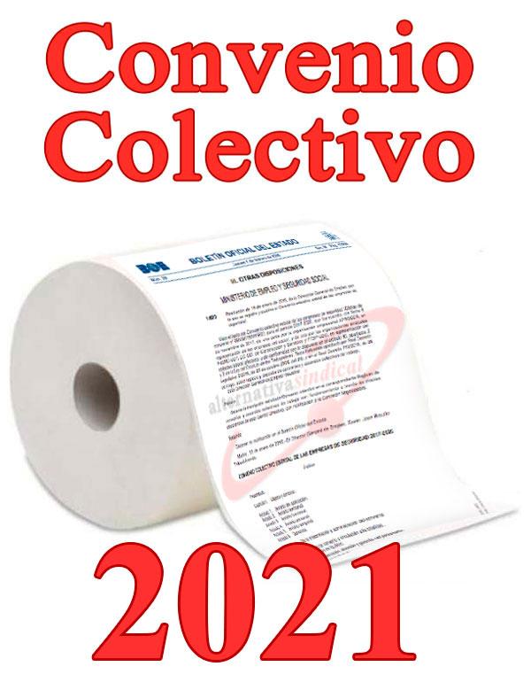 Convenio Colectivo de empresas de seguridad 2021