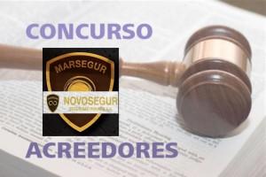 Concurso de acreedores Novosegur