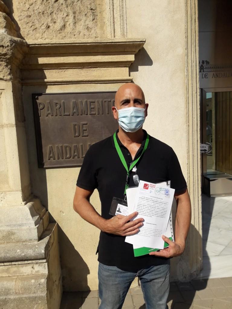 Pedro Barcenas Palop Parlamento de Andalucía