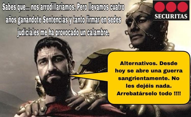 ALTERNATIVASINDICAL INTERPONE TRES DEMANDAS DE VULNERACIÓN DE DERECHOS FUNDAMENTALES CONTRA SECURITAS ANTE EL TRIBUNAL.