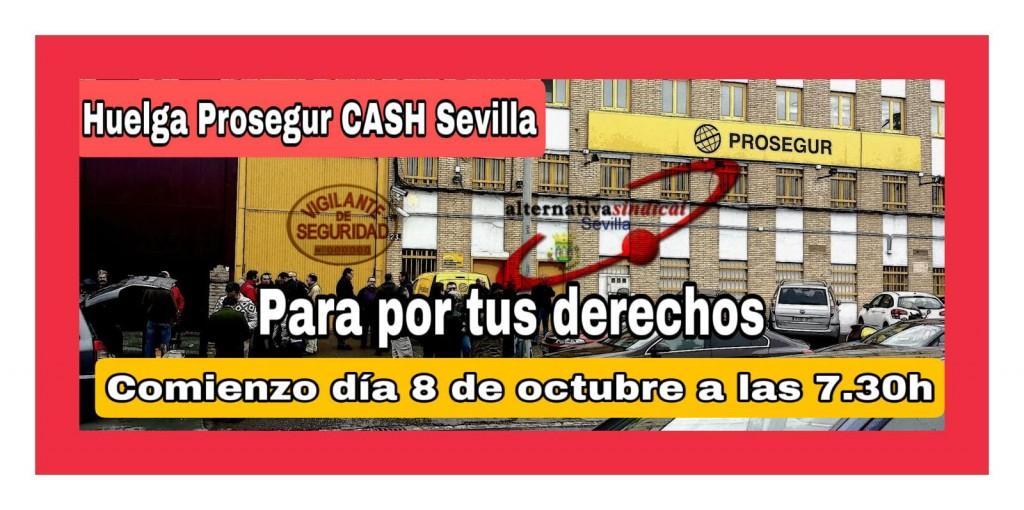 Prosegur Cash huelga Sevilla 2021