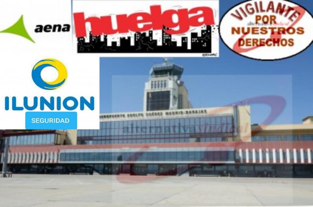 ILUNION  HUELGA BARAJAS