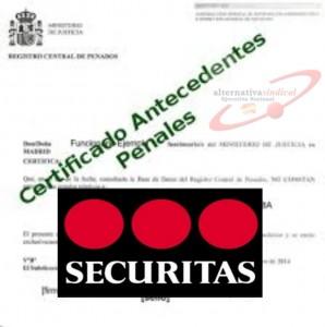SECURITAS ANTECEDENTES PENALES