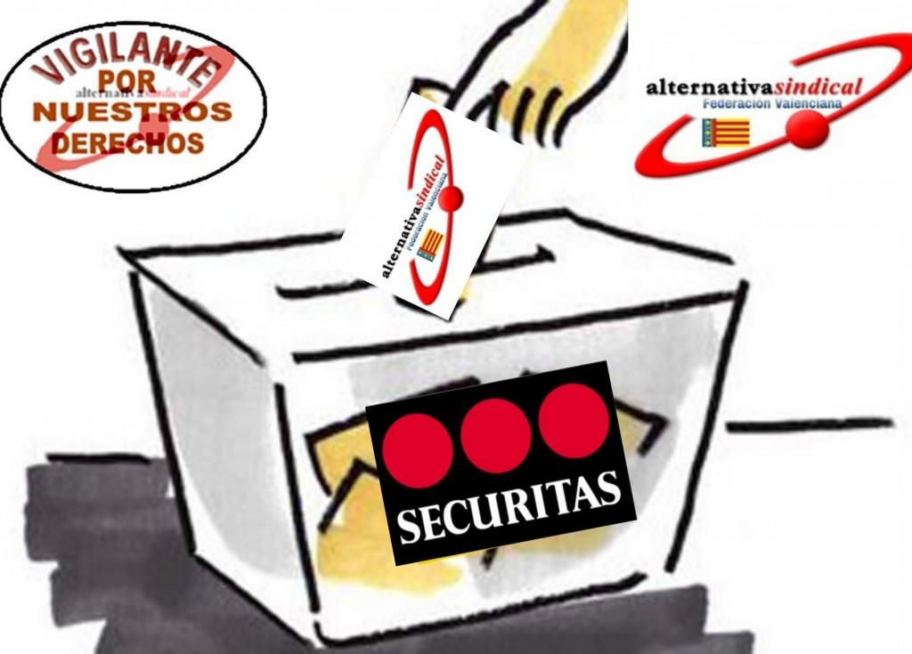 Elecciones Securitas Valencia