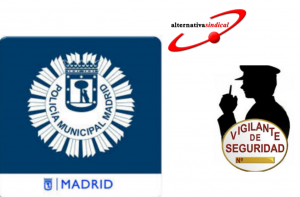 Policia local  Madrid