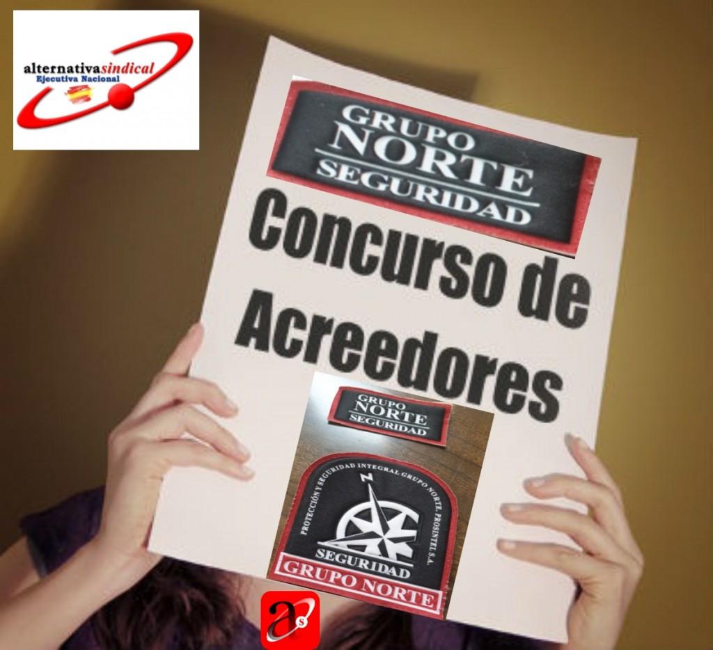 Grupo Norte Seguridad Concurso de Acreedores