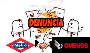 Denuncia Metro