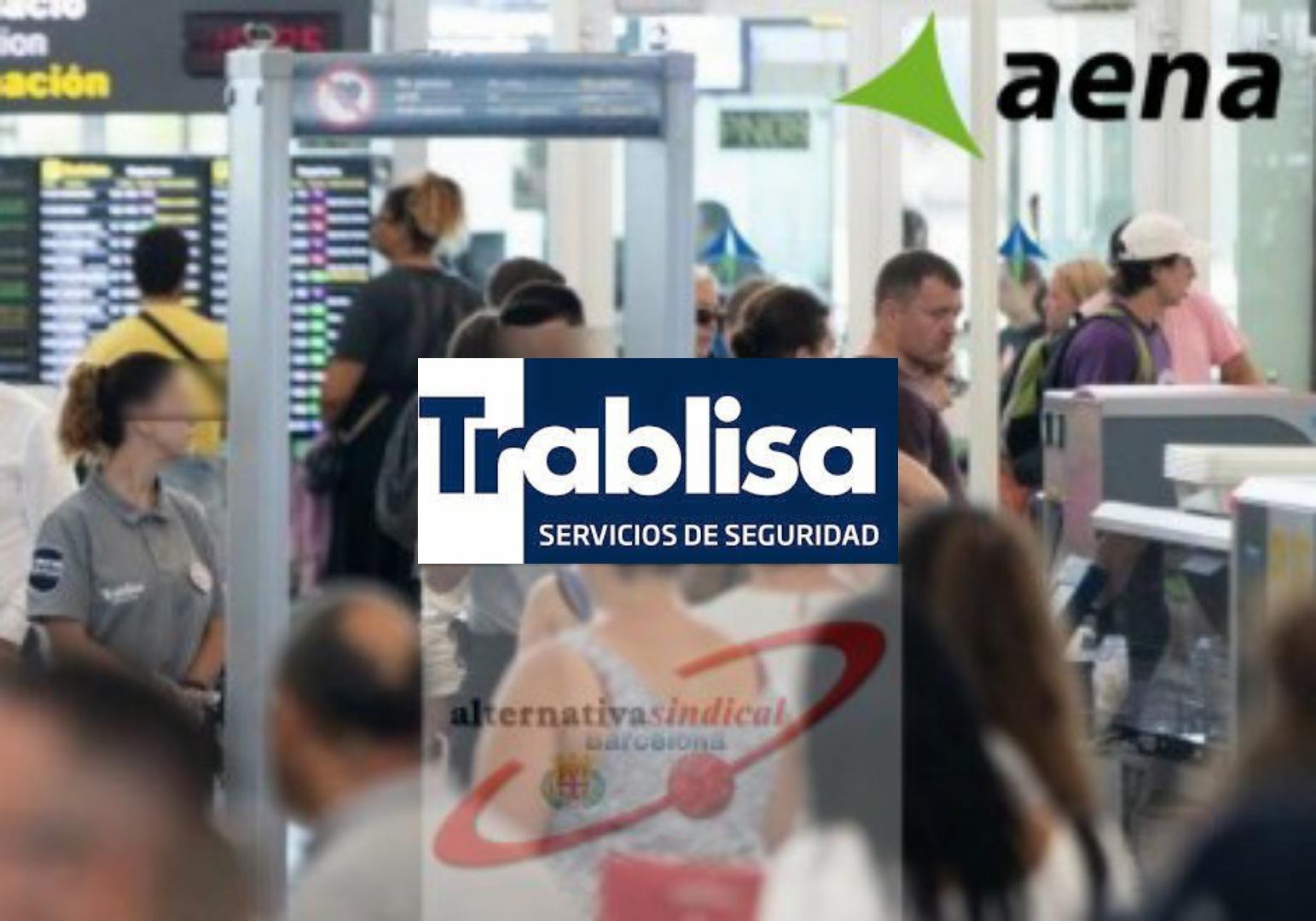 La Inspección de trabajo de Barcelona levanta actas de requerimiento contra TRABLISA y AENA por las condiciones laborales de los compañeros en el Aeropuerto del Prat.