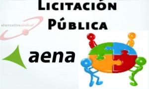 Licitación pública Aena