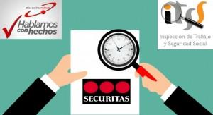 Inspección trabajo SECURITAS exceso de jornada