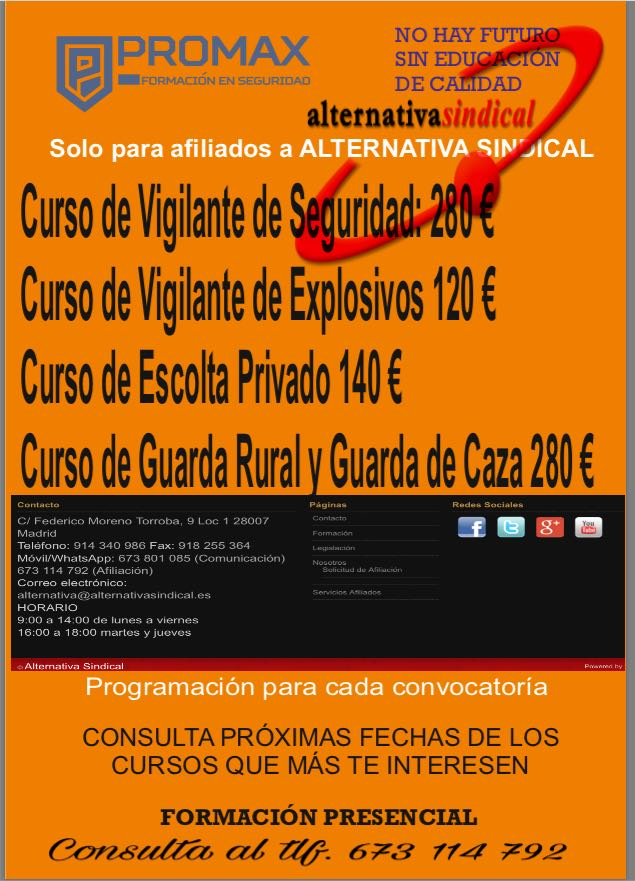cursos-promax-alternativasindical-2017-2