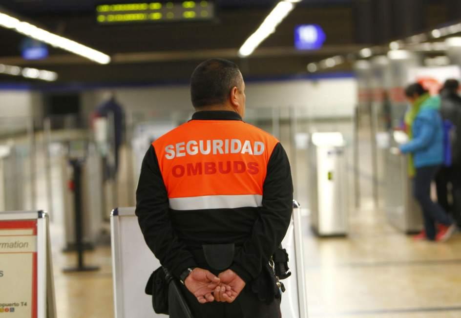 Seguridad Privada OMBUDS en Metro de Madrid